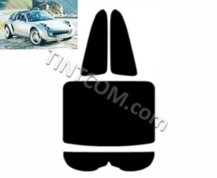 Pre Cut Window Tint - Smart Roadster Coupe (3 doors, 2003 - 2006) Johnson Window Films - Marathon series